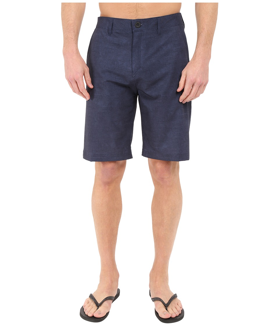 Quiksilver - Platypus Hybrid Shorts (Navy) Men's Shorts