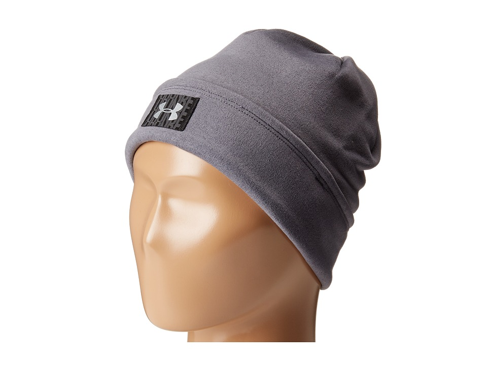 Under Armour - UA Storm(r) Coldgear(r) Infrared Fleece Beanie (Gray) Beanies