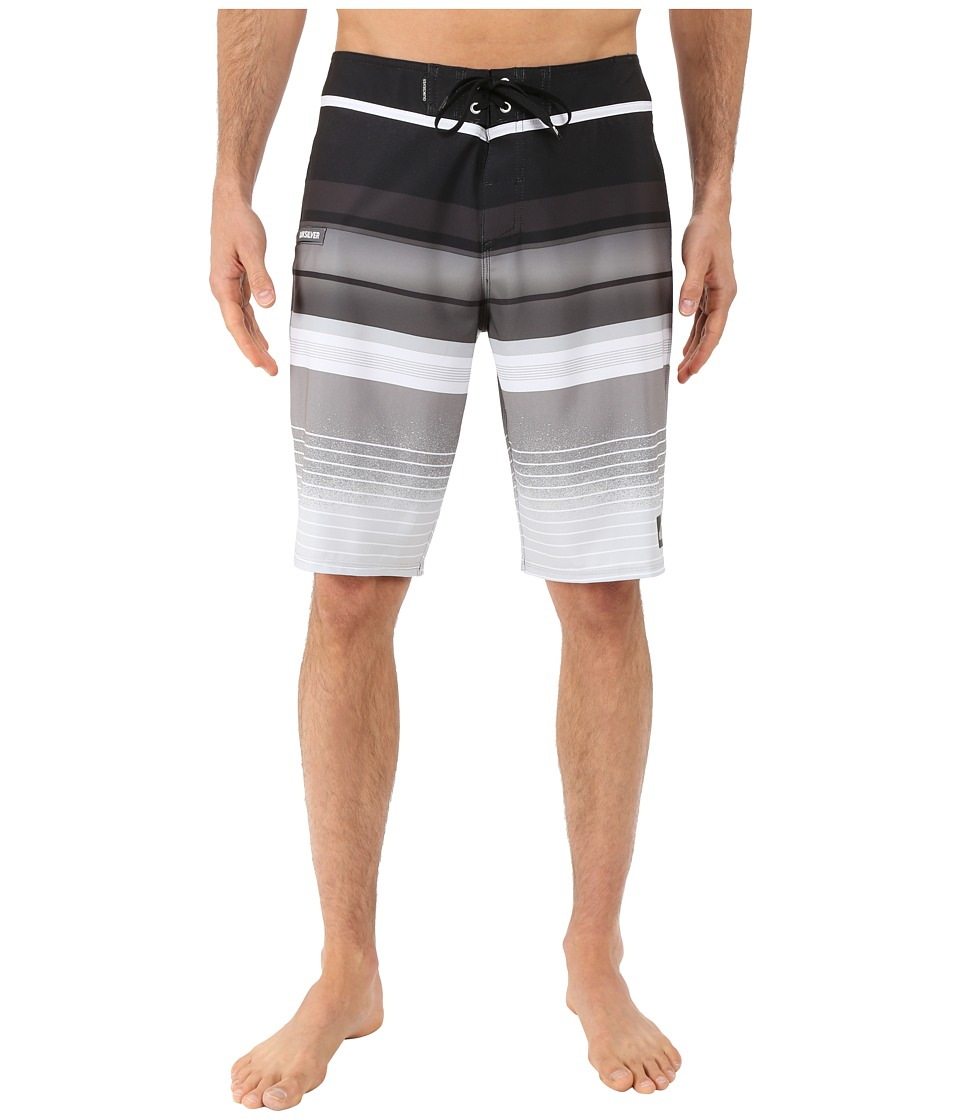 Quiksilver - Everyday Stripe 21 Boardshorts (Black) Men's Swimwear