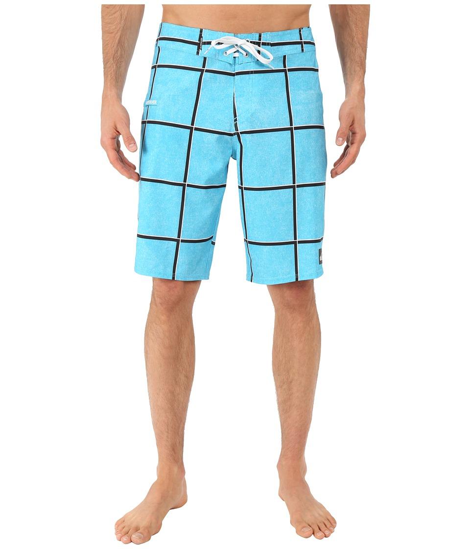 Quiksilver - Electric Stretch 21 Boardshorts (Hawaiian Ocean) Men's Swimwear