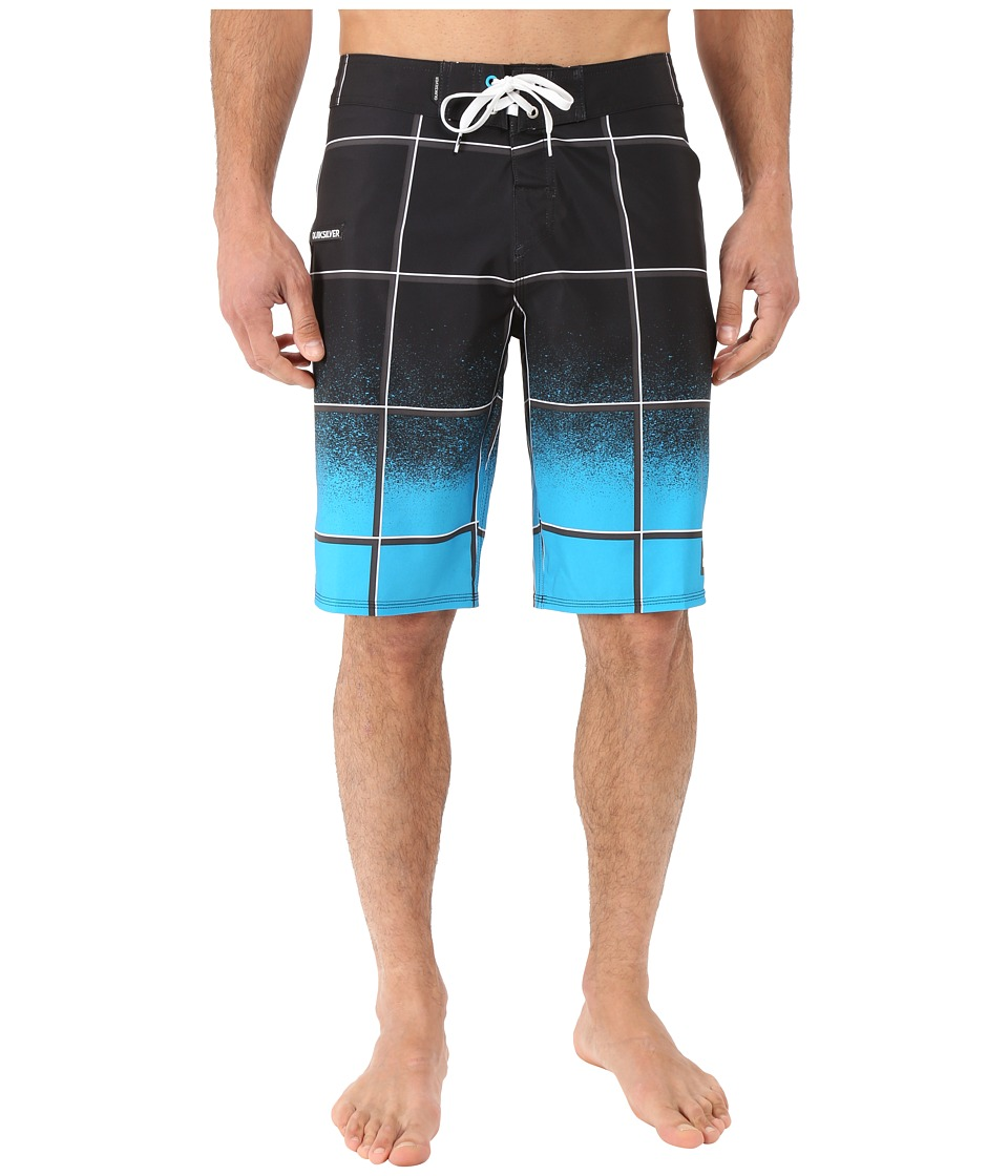 Quiksilver - Electric Stretch 21 Boardshorts (Black) Men's Swimwear