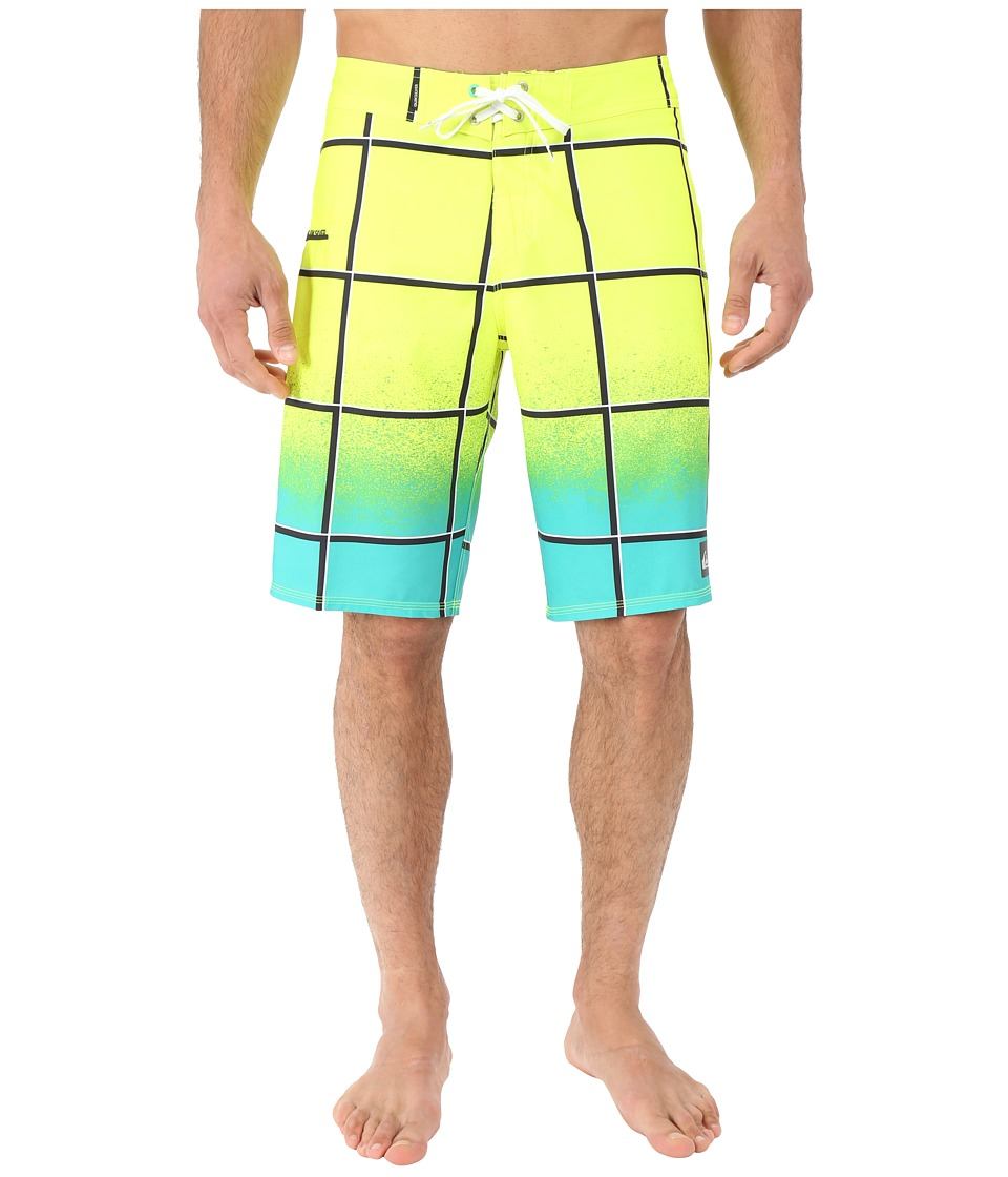 Quiksilver - Electric Stretch 21 Boardshorts (Pool Green) Men's Swimwear