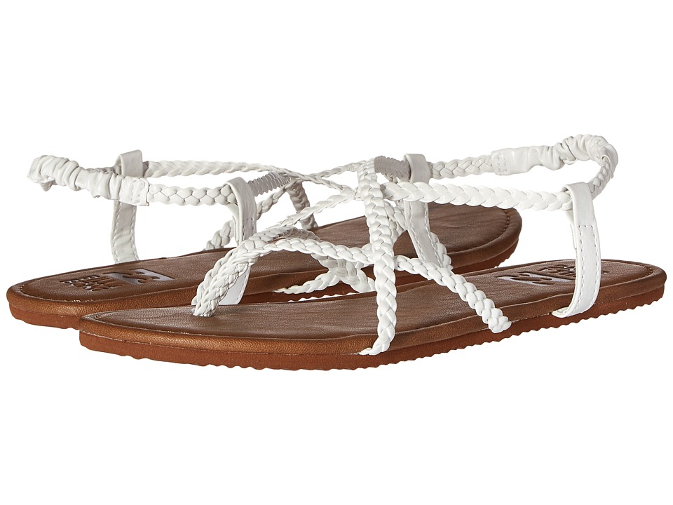 Billabong - Crossing Over (White) Women's Sandals