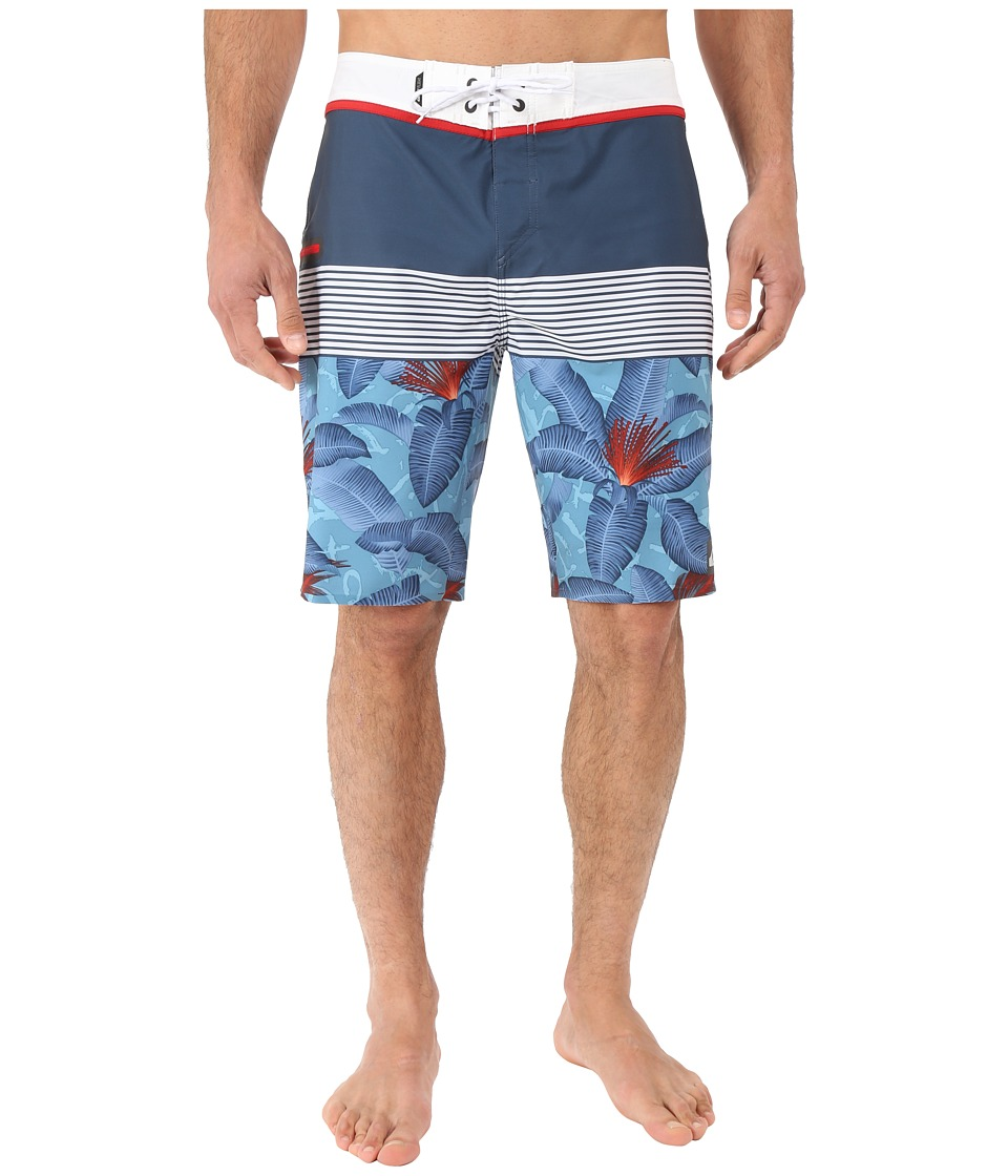 Quiksilver - Division Remix Vee 20 Boardshorts (Dark Denim) Men