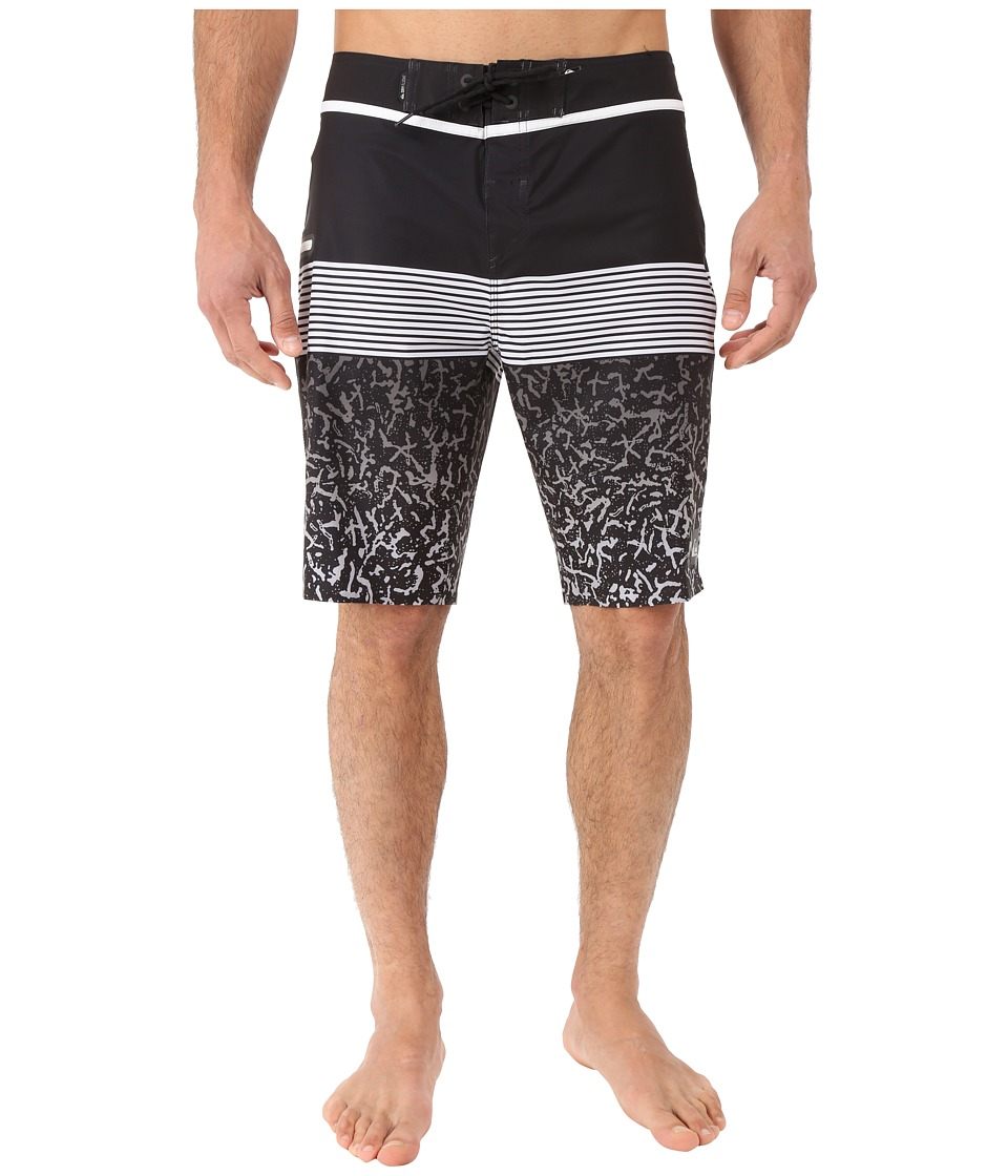 Quiksilver - Division Remix Vee 20 Boardshorts (Black) Men's Swimwear