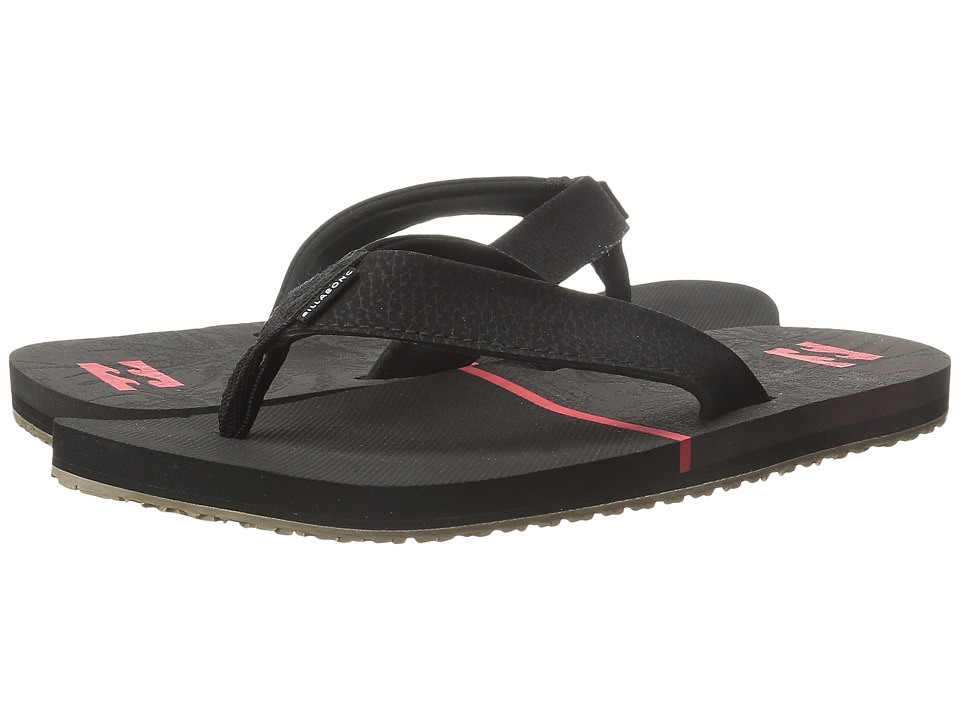 Billabong - Pivot Sandal (Little Kid/Big Kid) (Black) Men's Sandals