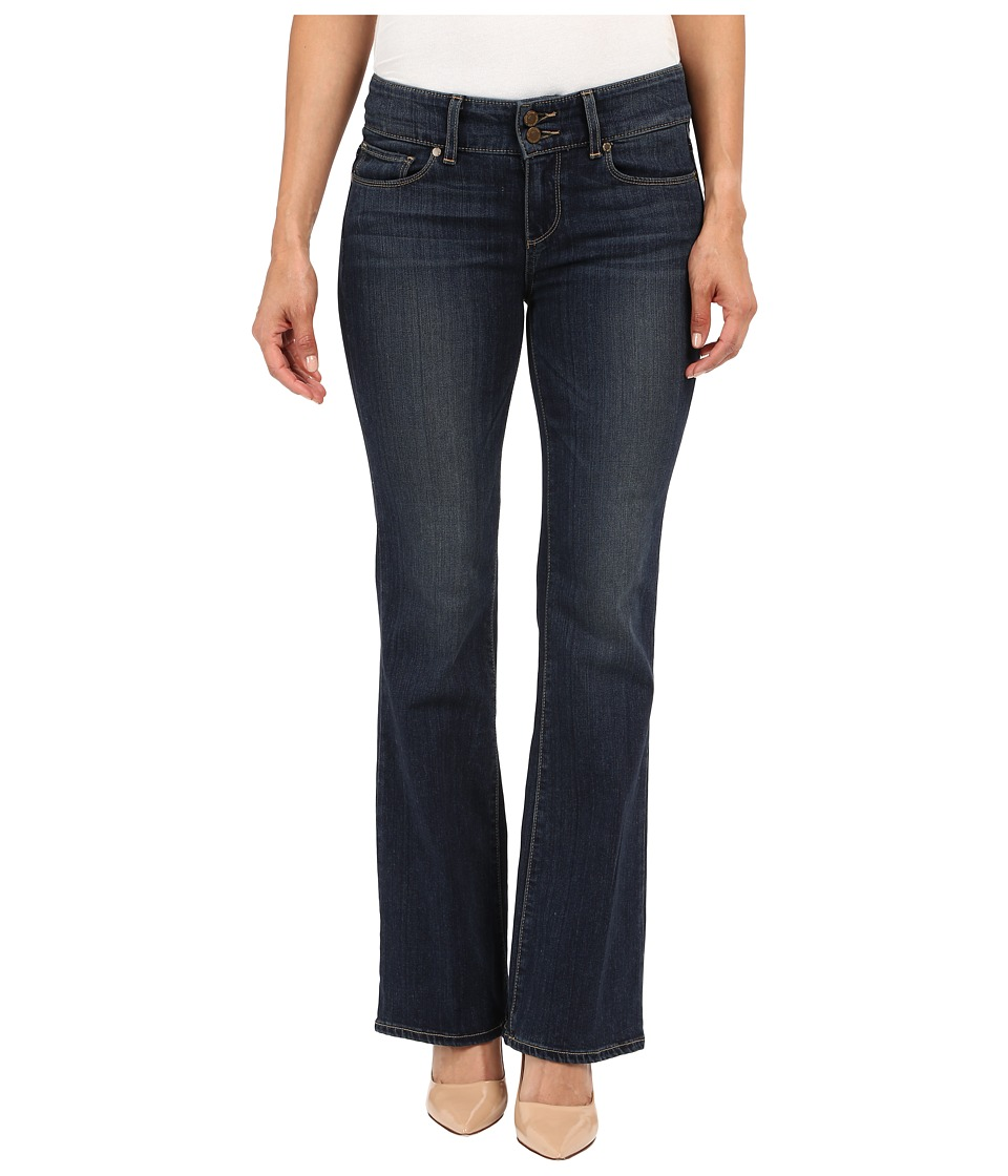 Paige - Petite Hidden Hills Boot Jeans in Penrose (Penrose) Women's Jeans