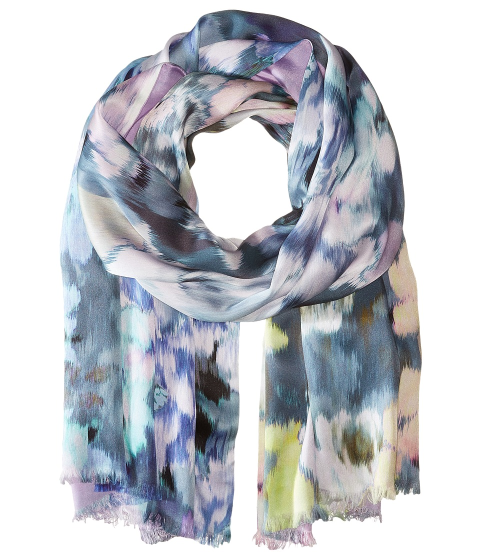Echo Design - Flowers in the Wind (Black) Scarves