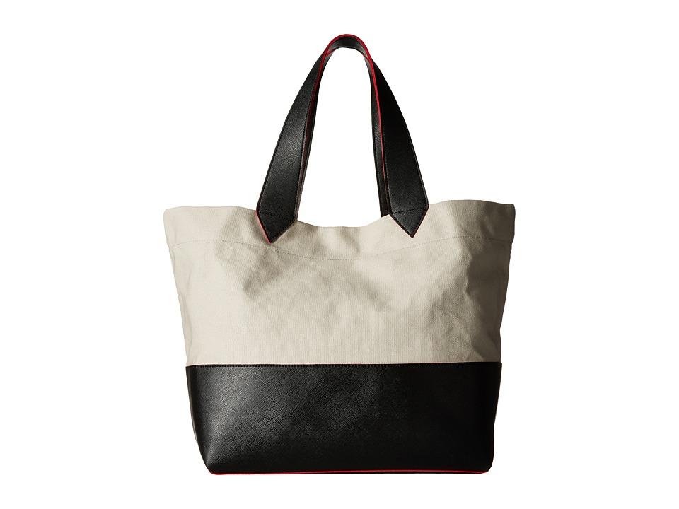 Echo Design - Color Block Sydney Tote (Black) Tote Handbags