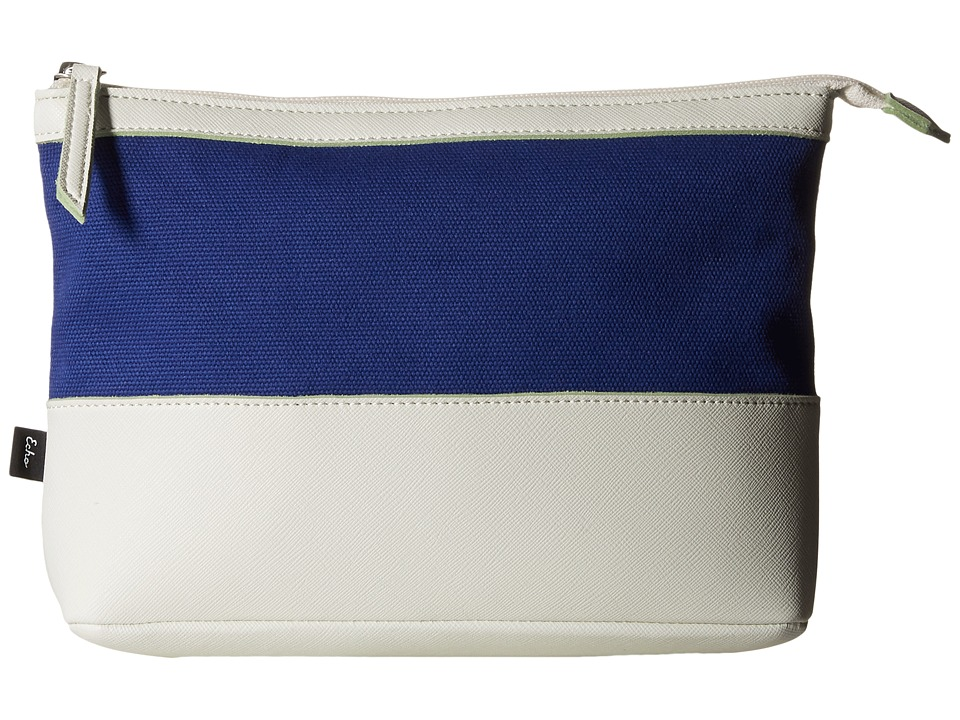 Echo Design - Color Block Fiji Pouch (Dazzling Blue) Clutch Handbags