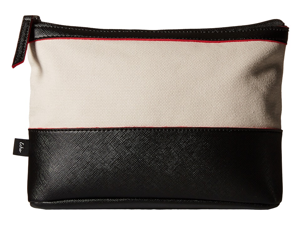 Echo Design - Color Block Fiji Pouch (Black) Clutch Handbags