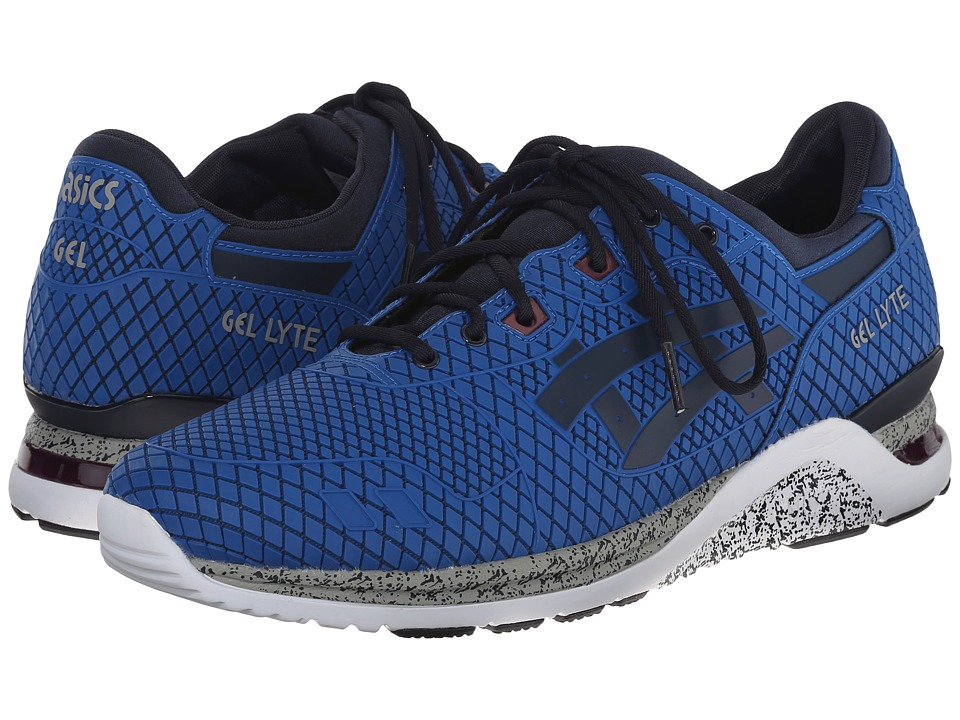 Onitsuka Tiger by Asics - Gel-Lyte III Evo (Mid Blue/Navy) Men's Shoes