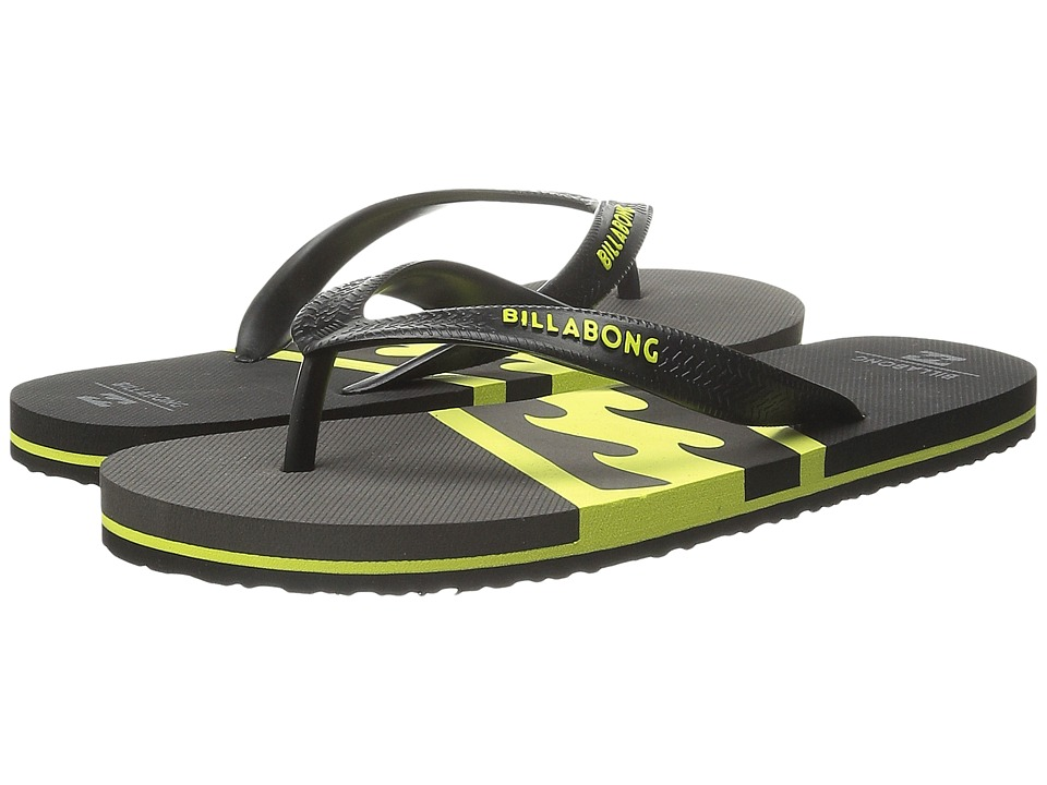 Billabong - Cove Sandal (Little Kid/Big Kid) (Lime) Men's Sandals