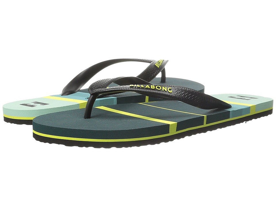 Billabong - Spin Thong Sandal (Little Kid/Big Kid) (Steel) Men