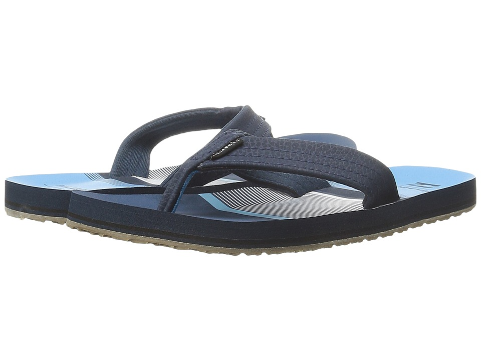 Billabong - Stoked Sandal (Little Kid/Big Kid) (Blue) Men's Sandals