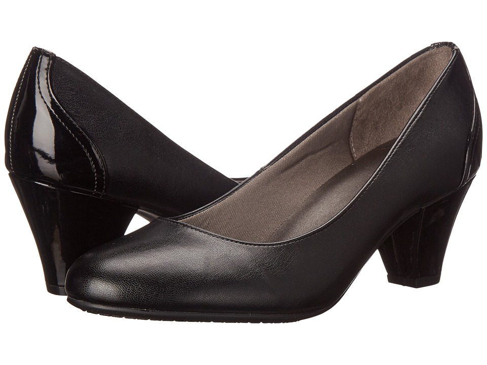 LifeStride Garcia (Black Smooth) High Heels