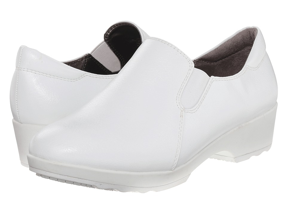 LifeStride Buzz (White Smooth) Women