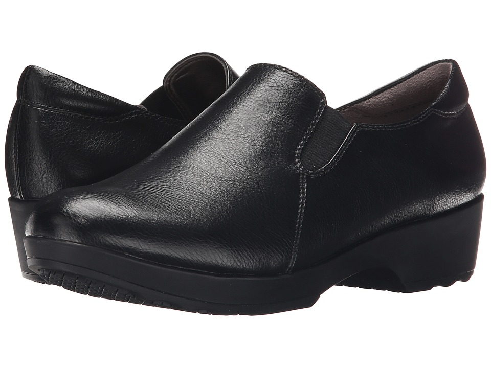 LifeStride - Buzz (Black Smooth) Women's Shoes