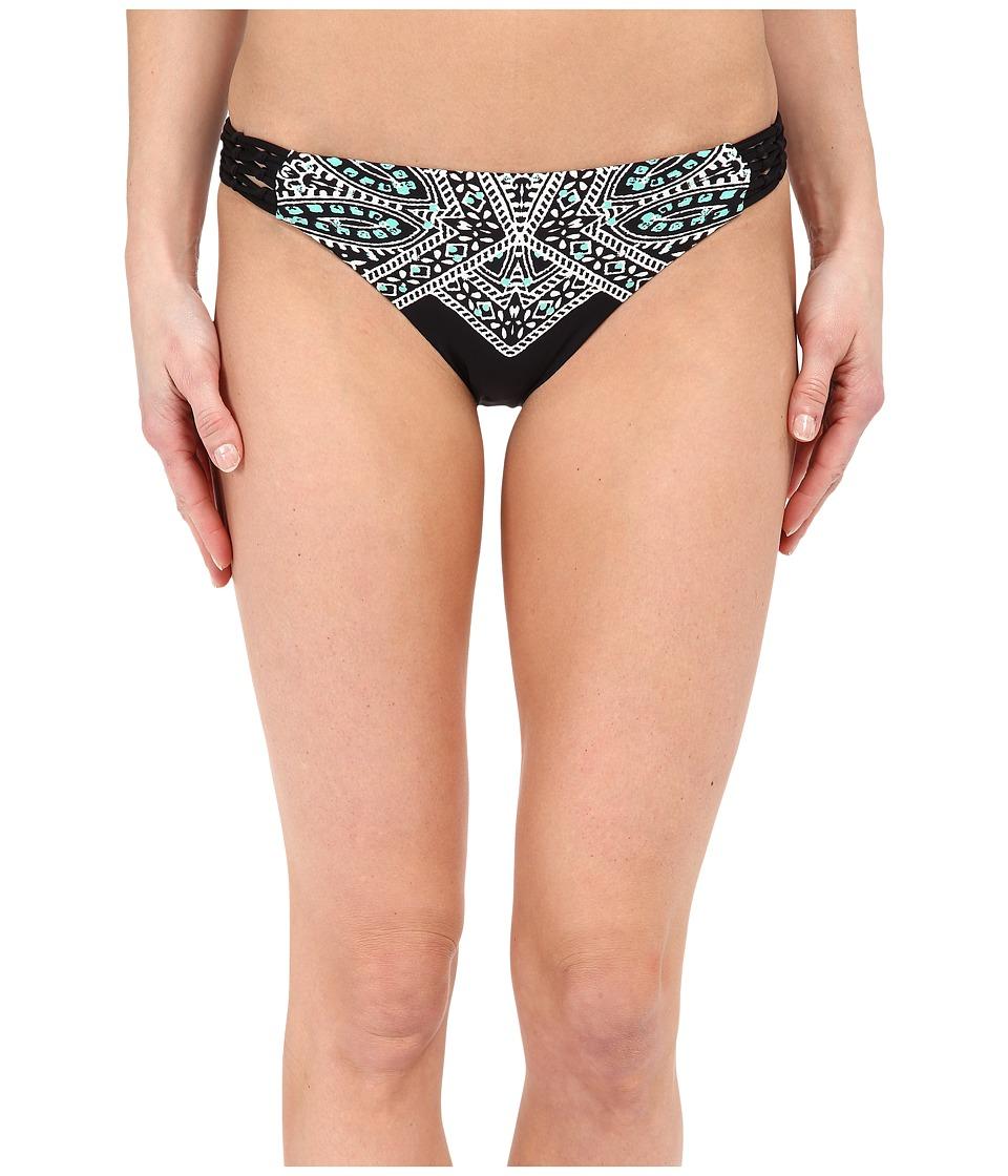 Ella Moss Fez Retro Pants Black Swimwear