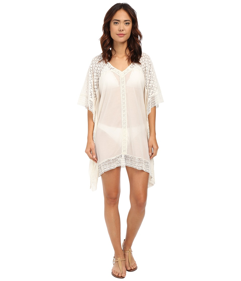 Ella Moss - Fez Tunic Cover-Up (Cream) Women's Swimwear
