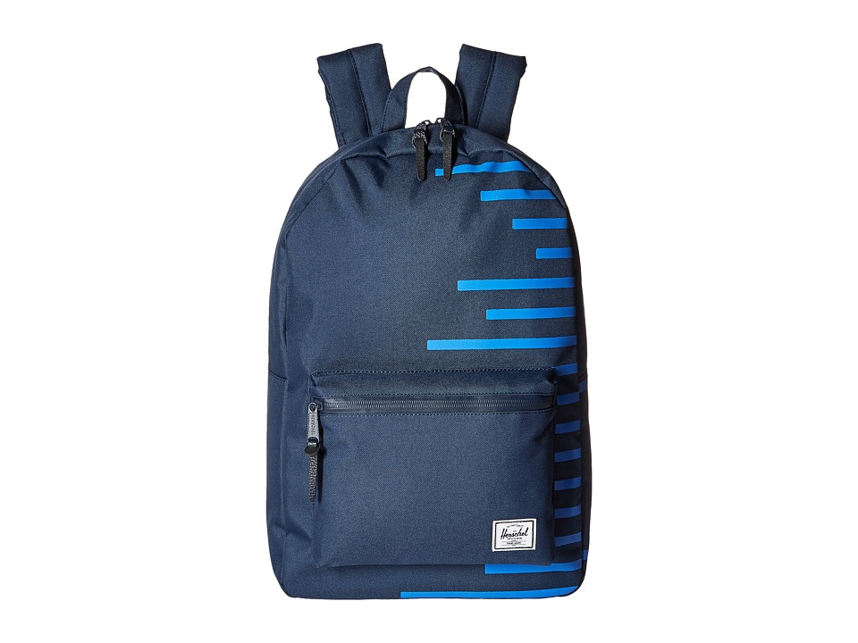 Herschel Supply Co. - Settlement (Navy/Cobalt Stripes) Backpack Bags