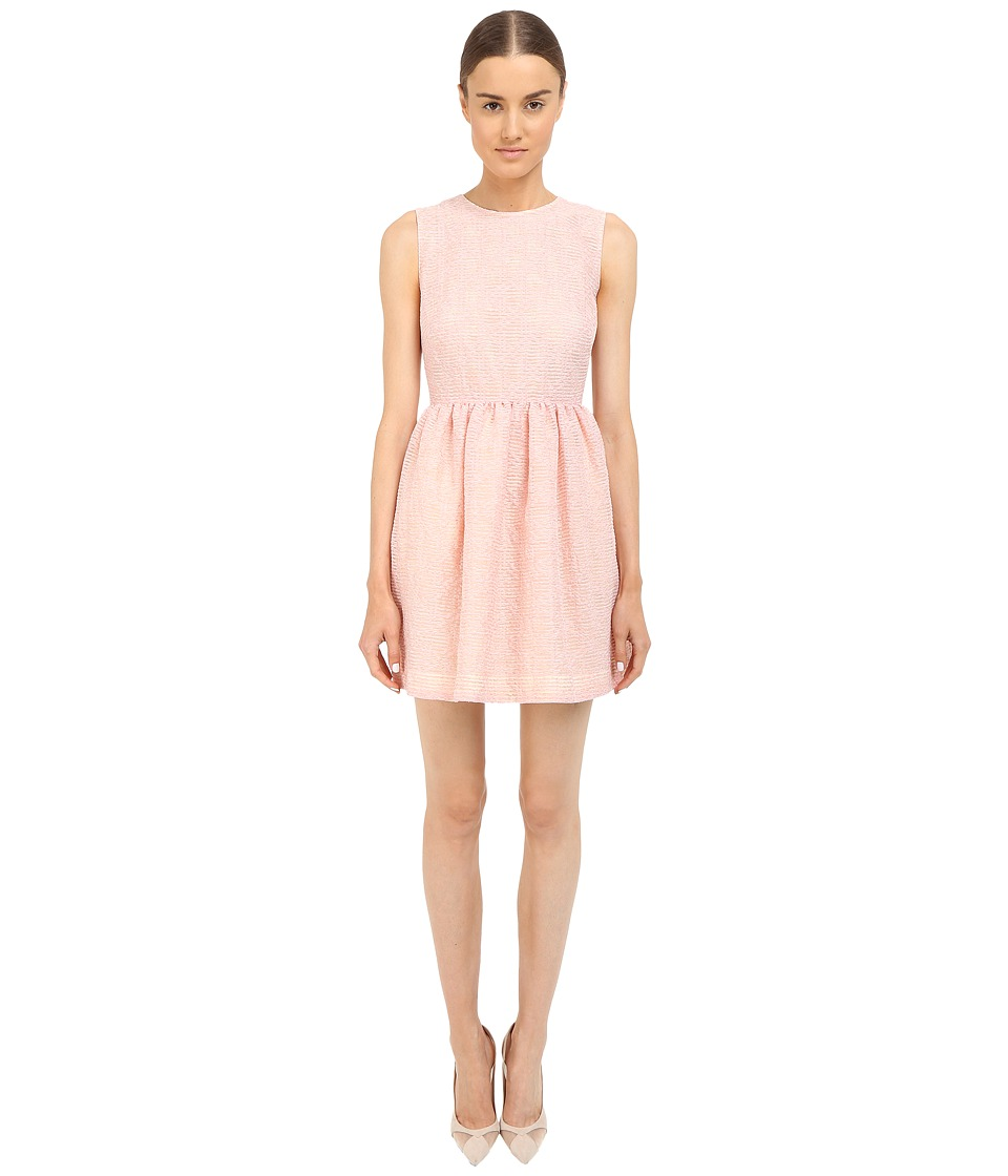 RED VALENTINO - Fit Flare Tank Dress (Pink) Women's Dress