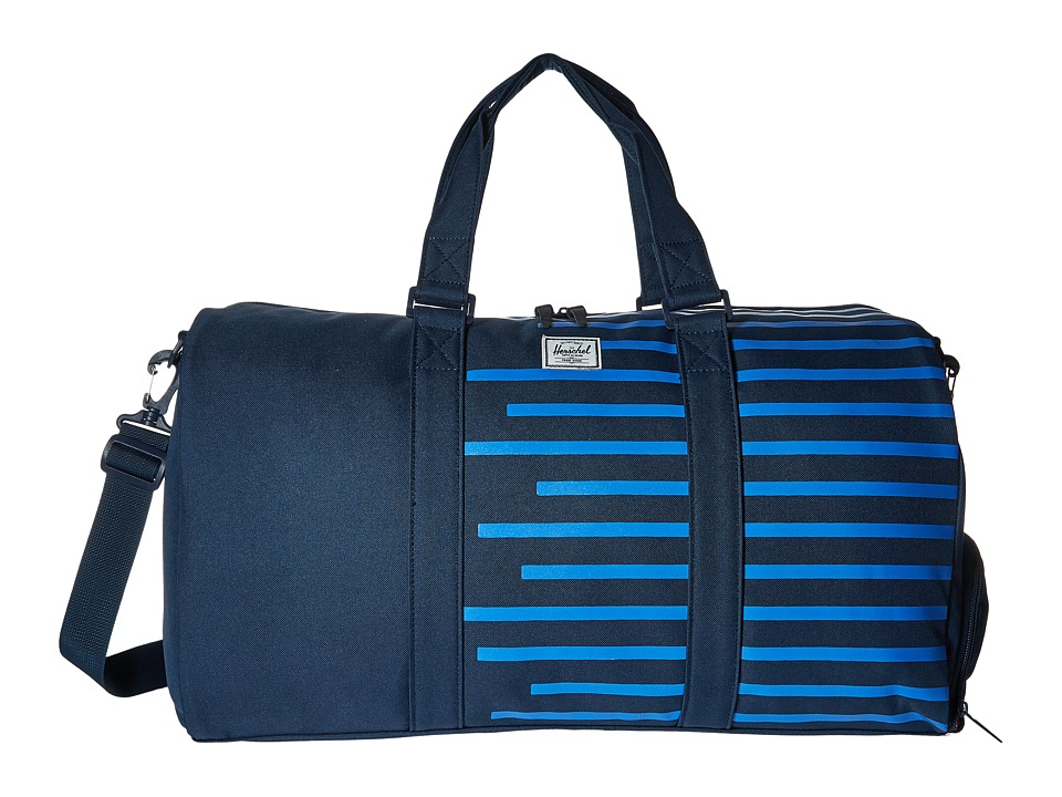 Herschel Supply Co. - Novel (Navy/Cobalt Stripes) Duffel Bags