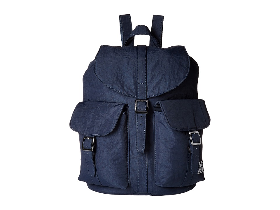 Herschel Supply Co. - Dawson (Total Eclipse/Black Veggie Tan Leather) Bags