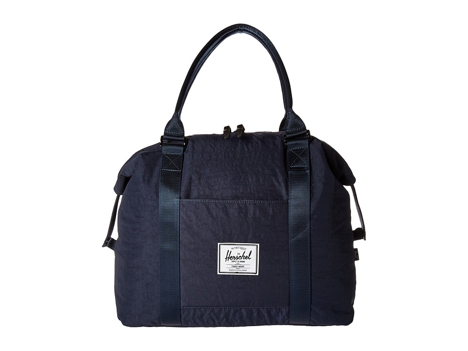 Herschel Supply Co. - Strand (Total Eclipse/Black Veggie Tan Leather) Duffel Bags
