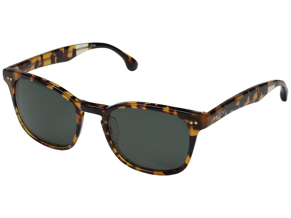 TOMS - Noah (Matte Havana Tortoise) Fashion Sunglasses