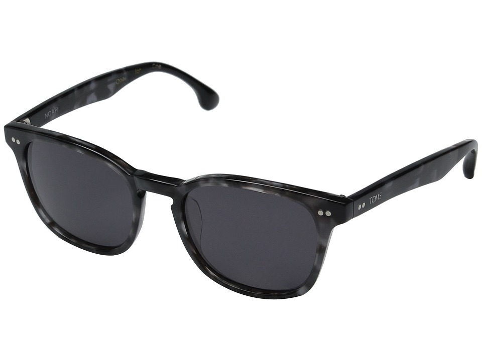 TOMS - Noah (Matte Grey Crystal) Fashion Sunglasses