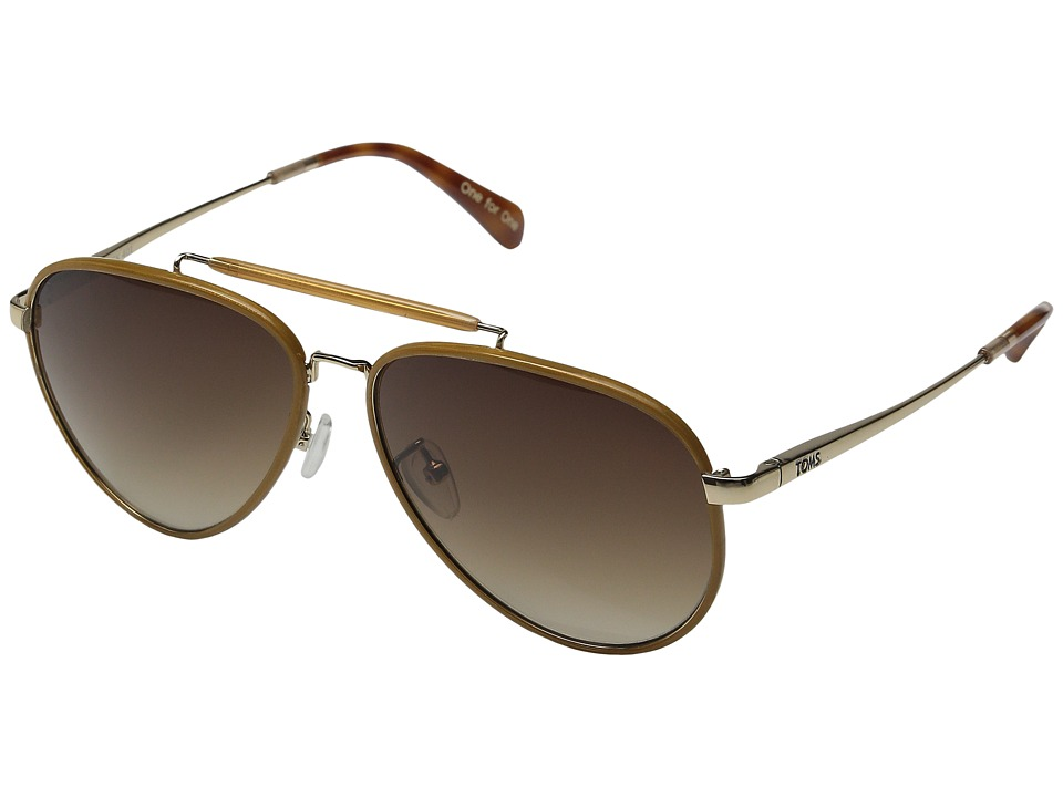 TOMS - Maverick 401 (Sand Crystal Wrap) Fashion Sunglasses