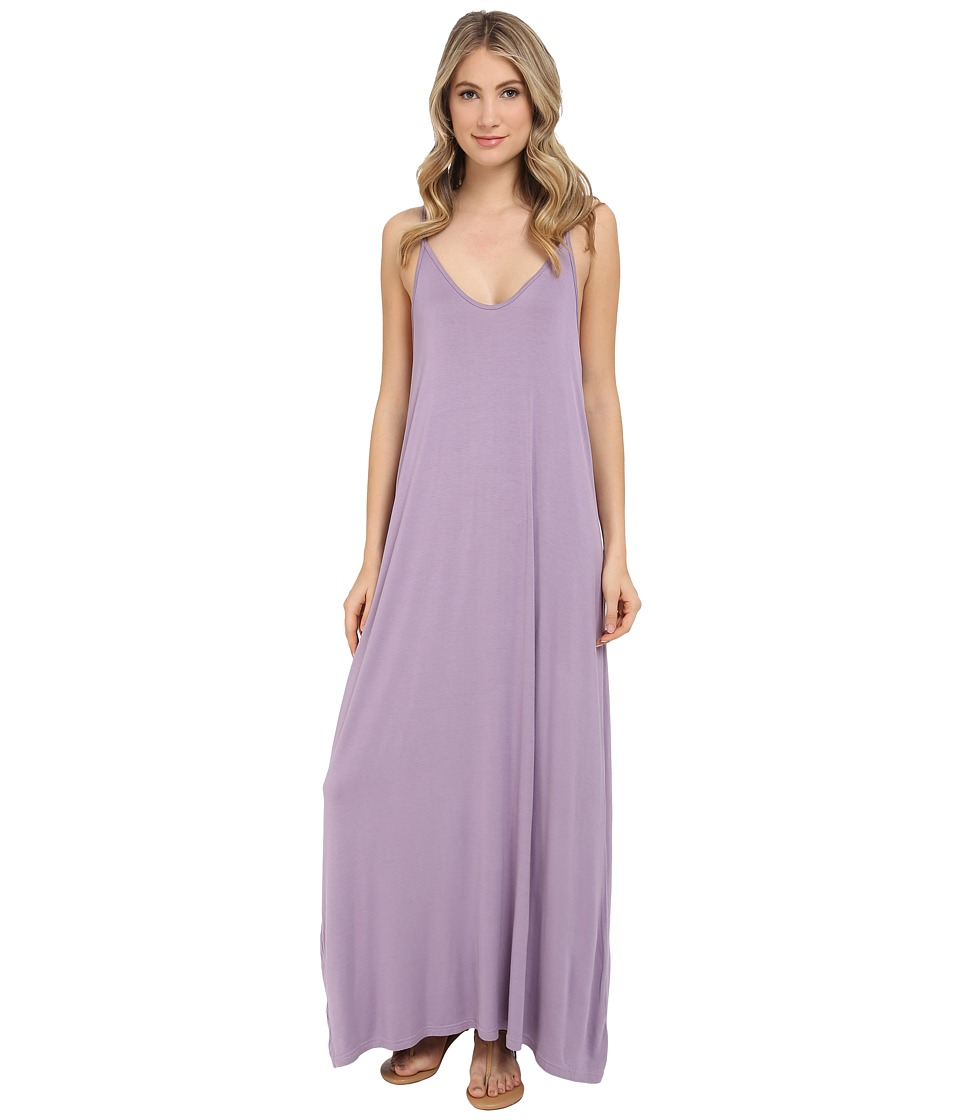 Culture Phit - Ellie Spaghetti Strap Maxi Dress (Lavender Mist) Women's Dress