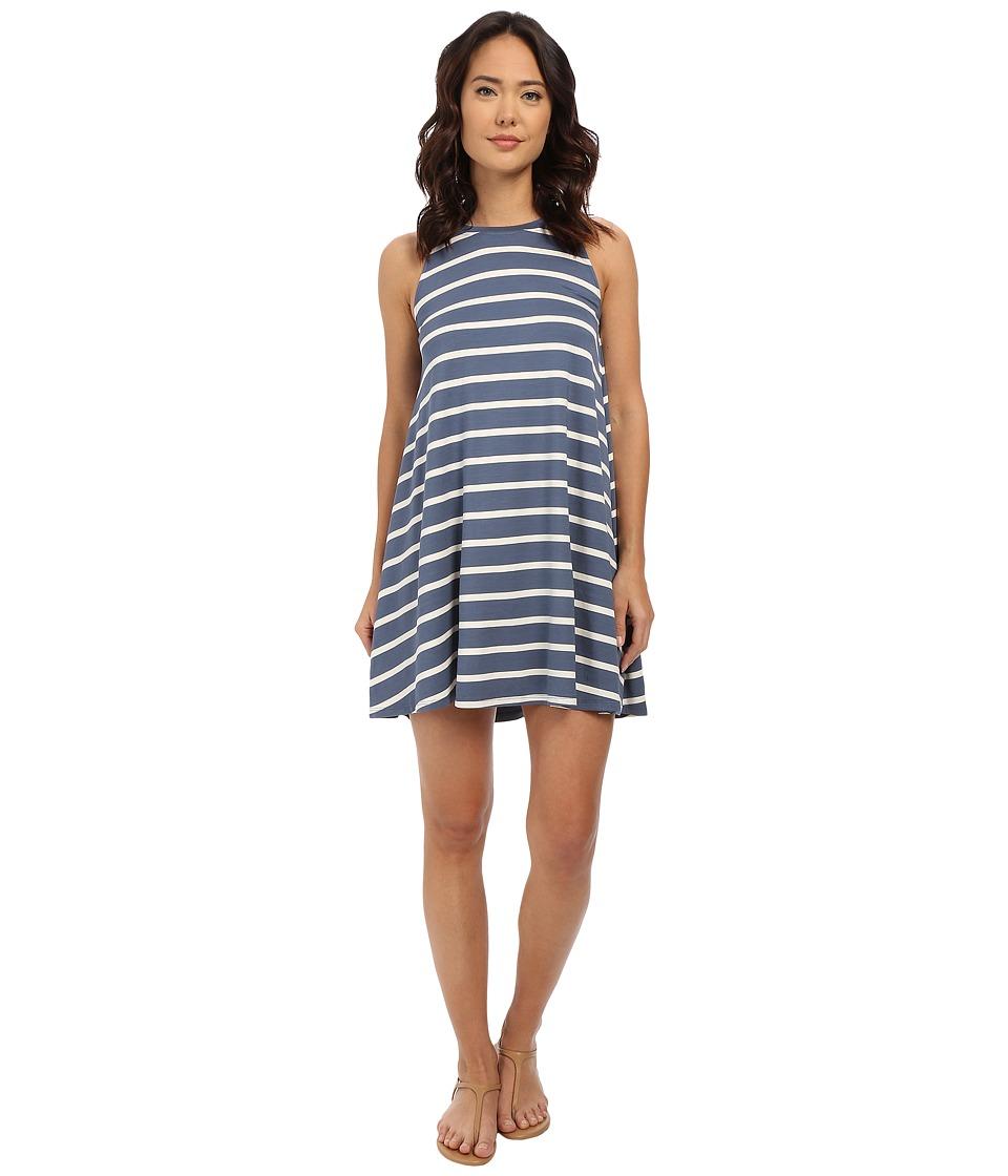 Culture Phit - Toni Sleeveless Dress (Dusty Blue/Ivory) Women's Dress