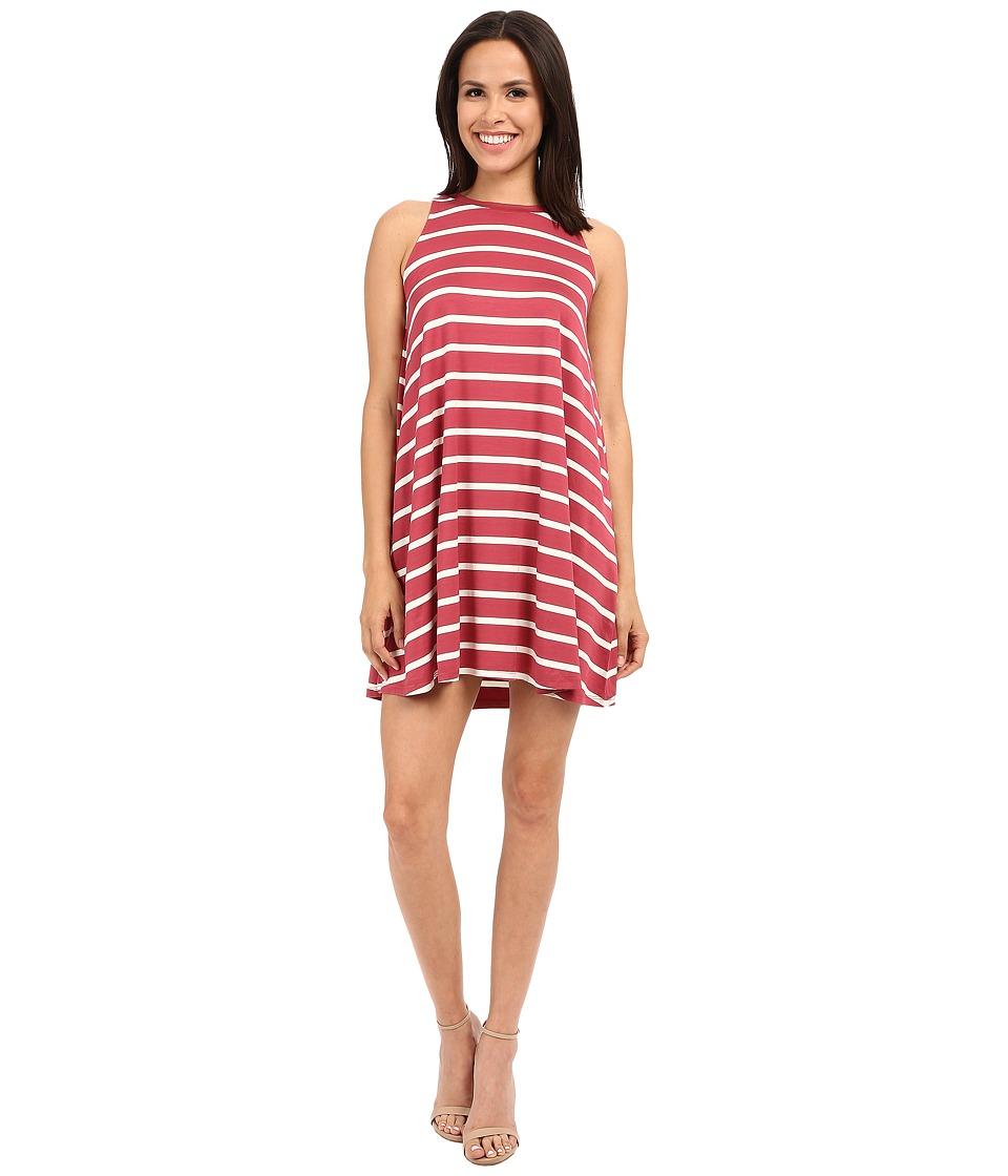 Culture Phit - Toni Sleeveless Dress (Dusty Pink/Ivory) Women's Dress