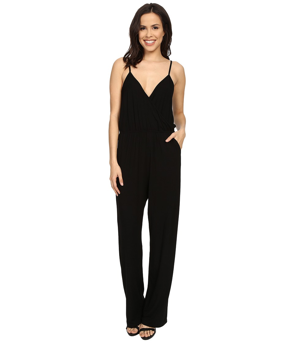 Culture Phit - Comfy Luna Jumper (Black) Women's Jumpsuit & Rompers One Piece