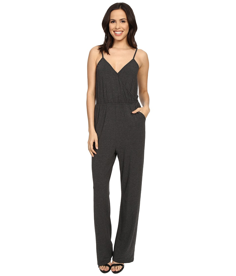 Culture Phit - Comfy Luna Jumper (Charcoal) Women's Jumpsuit & Rompers One Piece