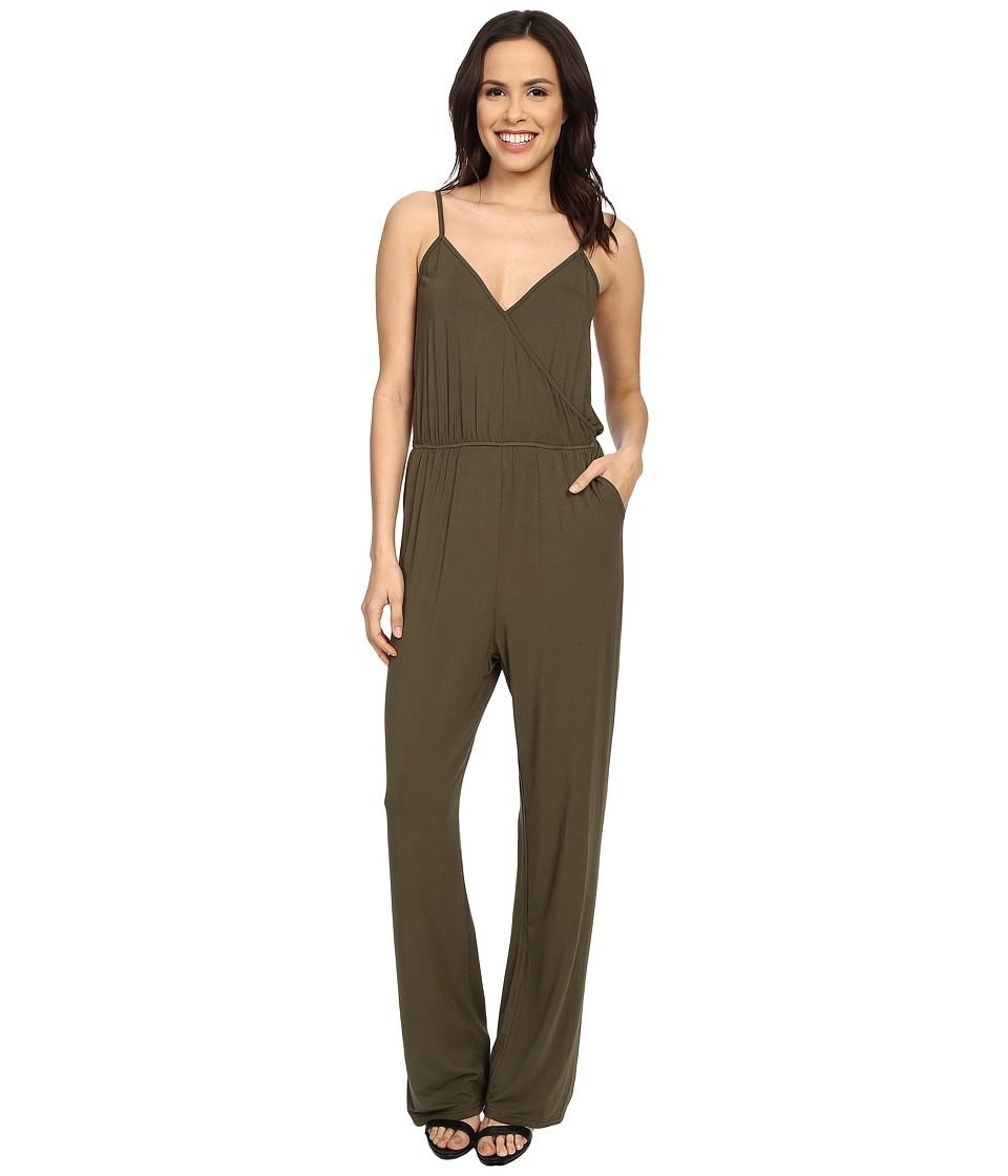 Culture Phit - Comfy Luna Jumper (Olive) Women's Jumpsuit & Rompers One Piece