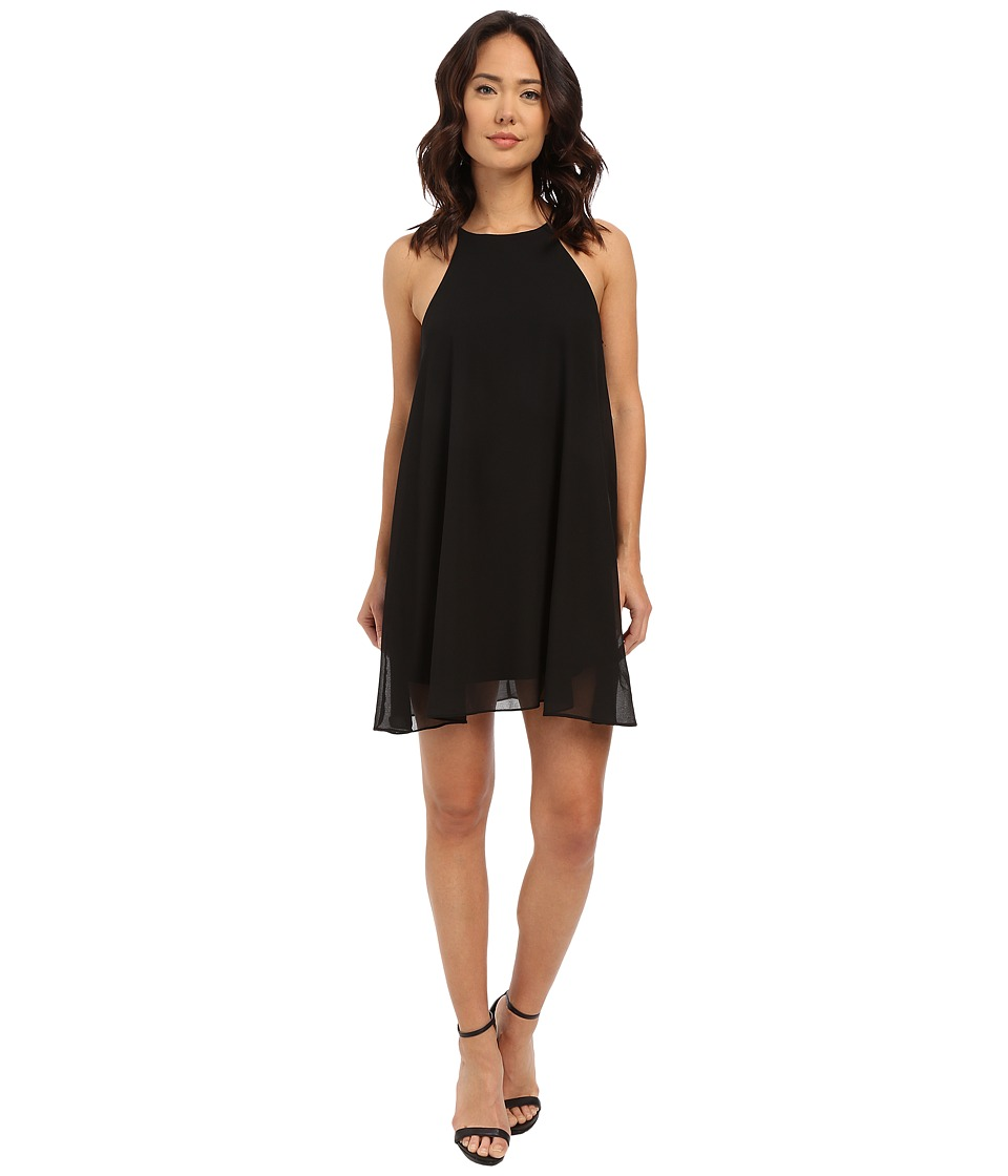 Brigitte Bailey - Layla Spaghetti Strap Flowy Dress (Black) Women's Dress