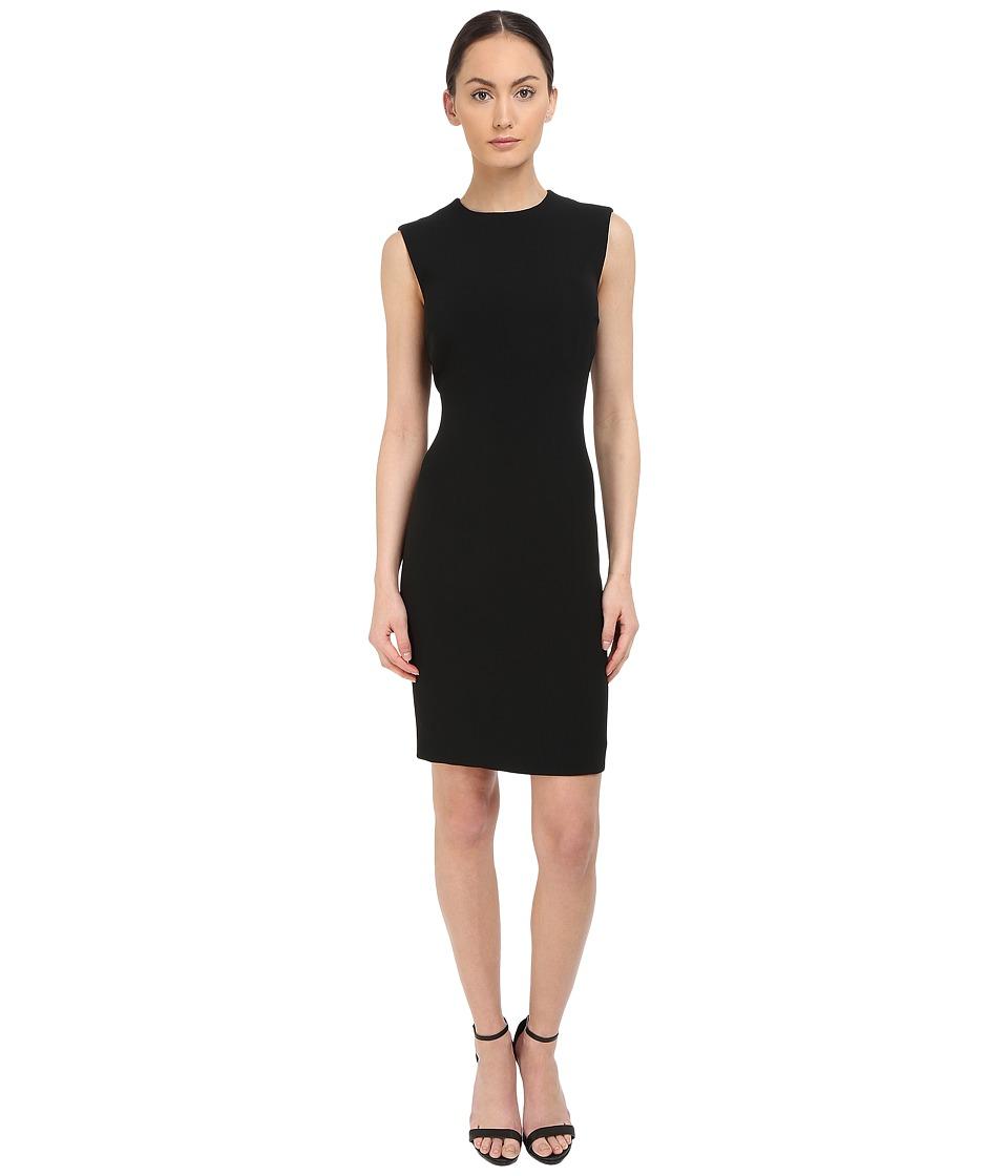 DSQUARED2 Stretch Cady/Haimi Sleeveless Dress (Black) Women