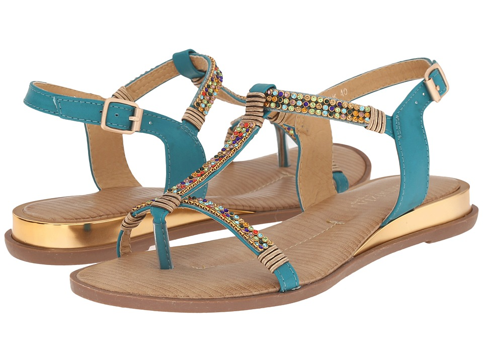 PATRIZIA - Anouk (Teal) Women's Sandals