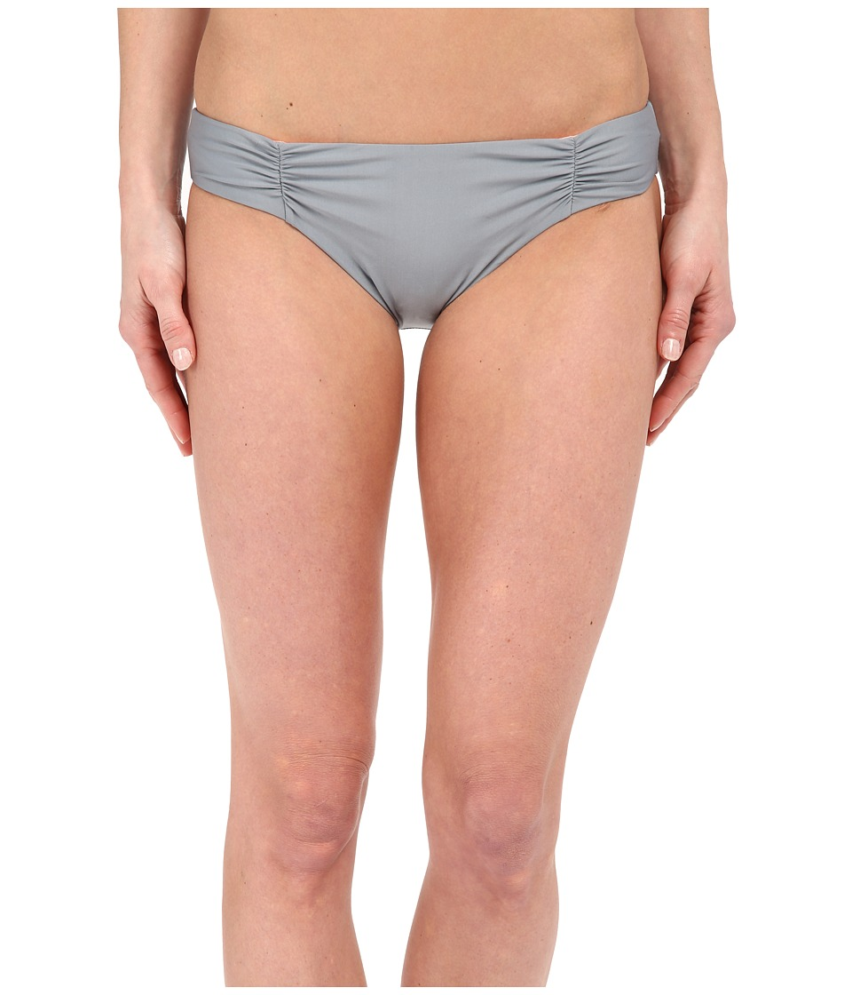 Splendid - Hamptons Solid Reversible Retro Pants (Grey) Women's Swimwear
