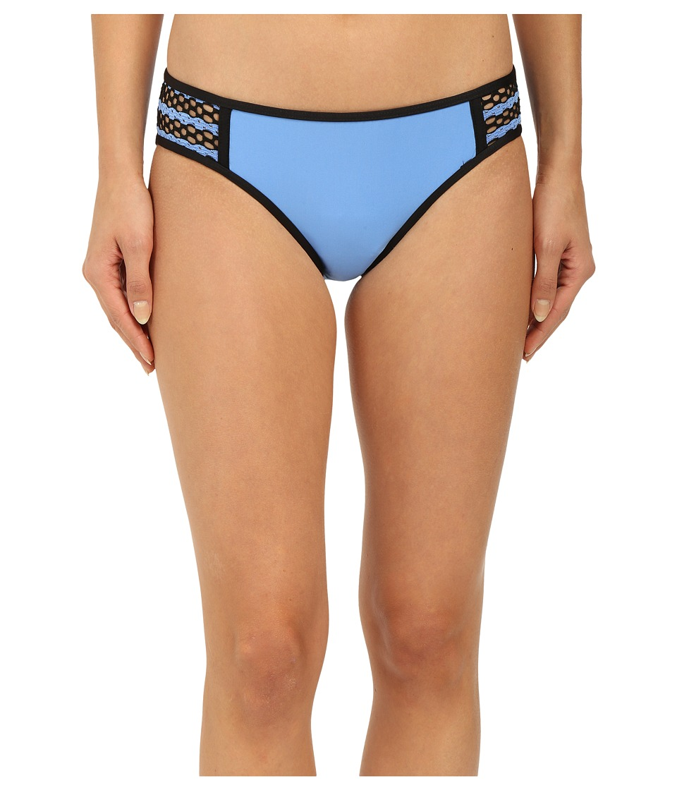 Splendid - Avalon Eyelet Retro Pants (Blue) Women's Swimwear