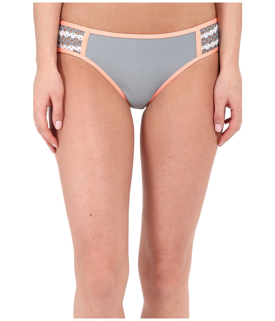 Splendid - Avalon Eyelet Retro Pants (Grey) Women's Swimwear