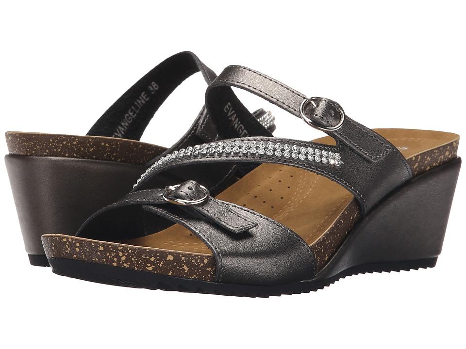 PATRIZIA - Evangeline (Pewter) Women's Wedge Shoes