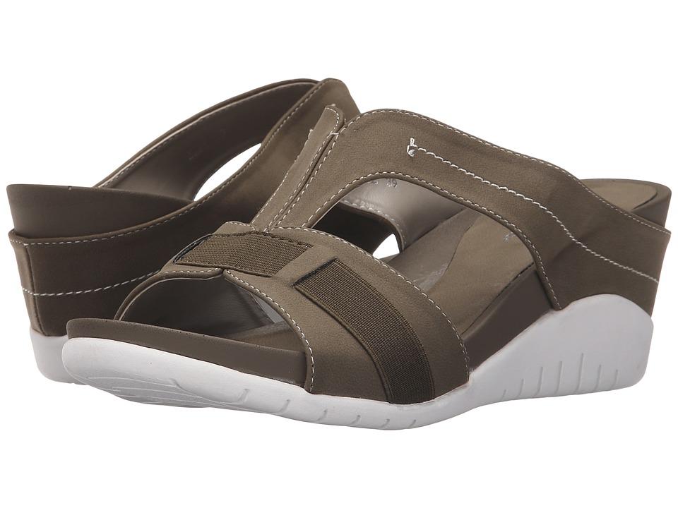PATRIZIA - Emil (Khaki) Women's Wedge Shoes