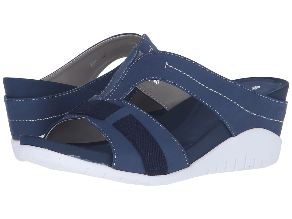 PATRIZIA - Emil (Denim Blue) Women's Wedge Shoes