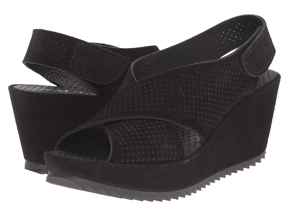 Pedro Garcia - Frigg (Black Castoro) Women's Wedge Shoes