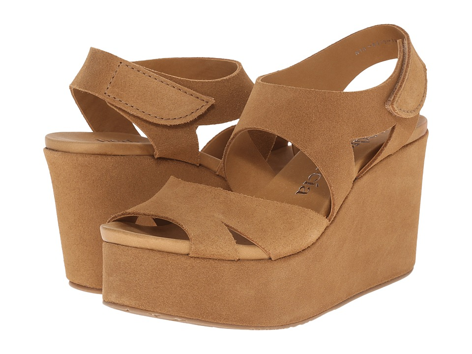 Pedro Garcia - Dacil (Caramel Castoro) Women's Wedge Shoes