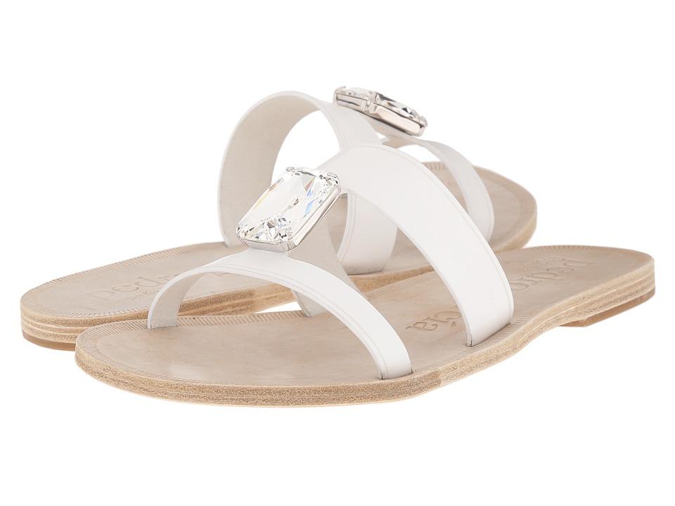 Pedro Garcia - Iride (White Vacchetta) Women's Sandals